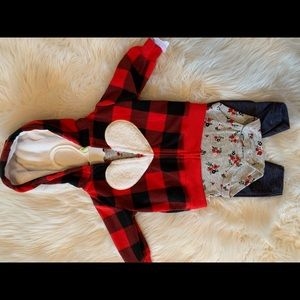 Carter's 3 piece outfit. 3 months NWT
